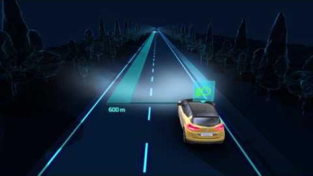 DYNAMIC FEATURES : AUTOMATIC MAIN BEAM HEADLIGHTS
