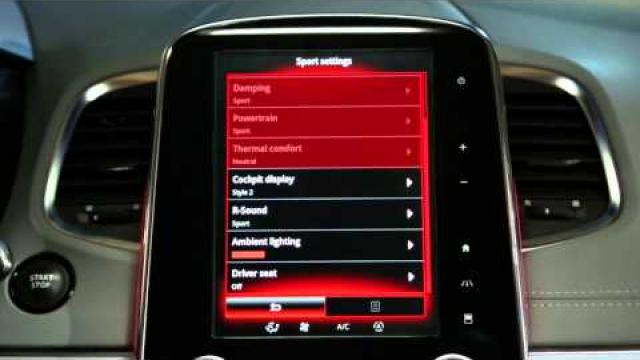 How to choose a preprogrammed driving mode