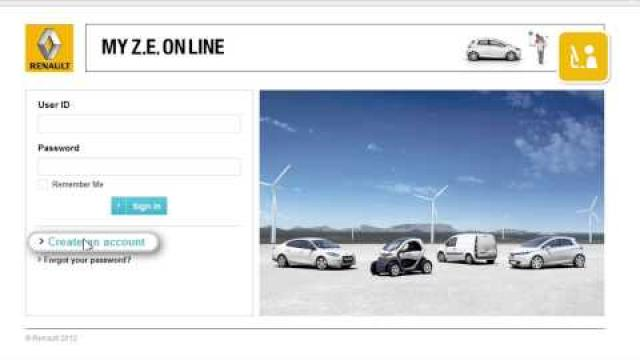 Activating Z.E services for electric vehicles