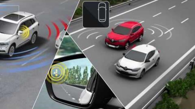 DYNAMIC FEATURES : BLIND SPOT WARNING