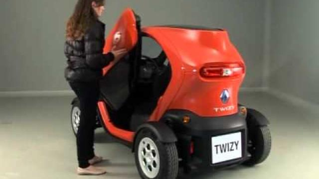Twizy : Door opening and closing