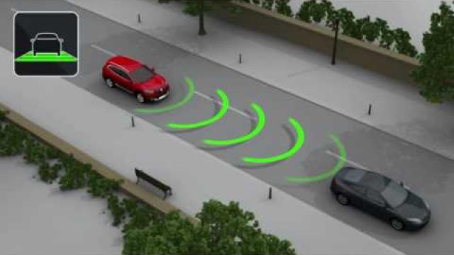 DYNAMIC FEATURES : ACTIVE EMERGENCY BRAKING SYSTEM