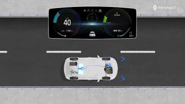 E-TECH PLUG-IN HYBRID - Understanding the special features of the instrument panel