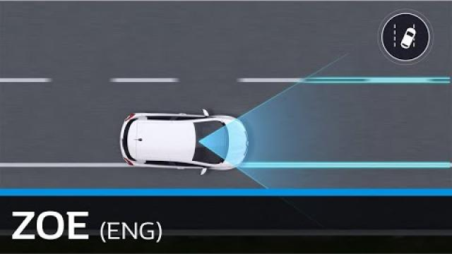 USING THE LANE DEPARTURE WARNING