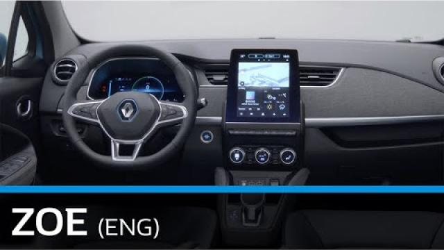 DISCOVER THE INTERIOR DESIGN NEW RENAULT ZOE