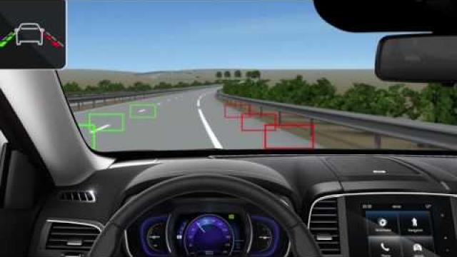DYNAMIC FEATURES : LANE DEPARTURE WARNING SYSTEM