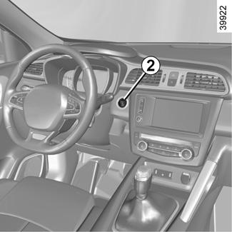 E-GUIDE RENAULT COM / Kadjar / STARTING, STOPPING THE ENGINE