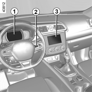 E-GUIDE RENAULT COM / Kadjar-2 / Let the technology in your vehicle