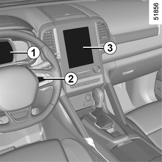 E-GUIDE RENAULT COM / Koleos-2 / Let the technology in your vehicle