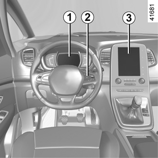 E-GUIDE RENAULT COM / New-Scenic / Let the technology in your